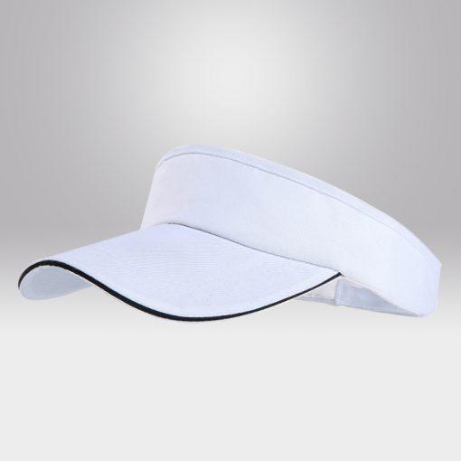 ขายส่งหมวกไวเซอร์ สีขาว