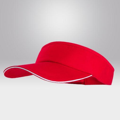 ขายส่งหมวกไวเซอร์ สีแดง