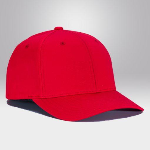 หมวกแก๊ปขายส่ง-สีแดง