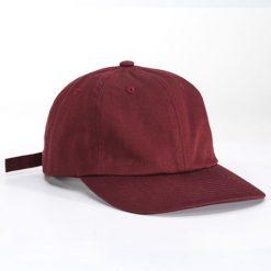 หมวกโมเดิร์นสีเลือดหมู