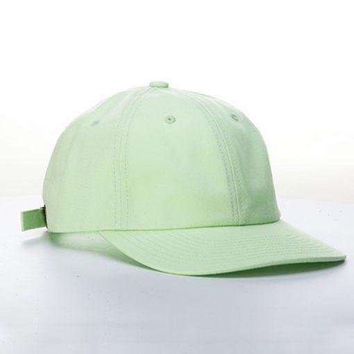 หมวกโมเดิร์นสีเขียว