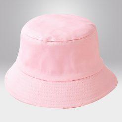 ขายส่งหมวกปีกรอบ สีชมพู