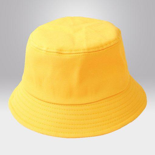 ขายส่งหมวกปีกรอบ สีเหลือง
